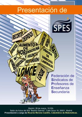 Cartel SPES Madrid