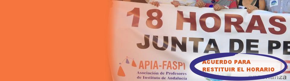APIA acoge con escepticismo el acuerdo del gobierno andaluz con los sindicatos de la mesa sectorial en plena precampaña