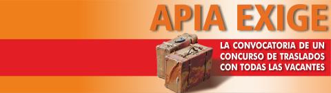APIA exige la convocatoria de un CGT con todas las vacantes