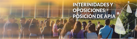Interinidades y oposiciones: posición de APIA