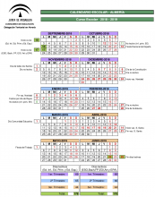 Calendario Escolar 2020 Andalucia.Calendario Escolar Asociacion Apia