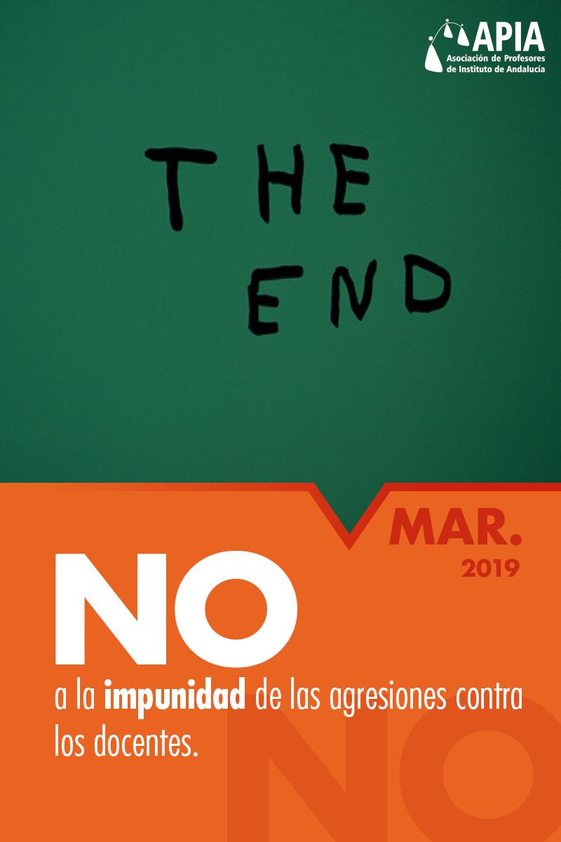 No a la impunidad de las agresiones contra los docentes