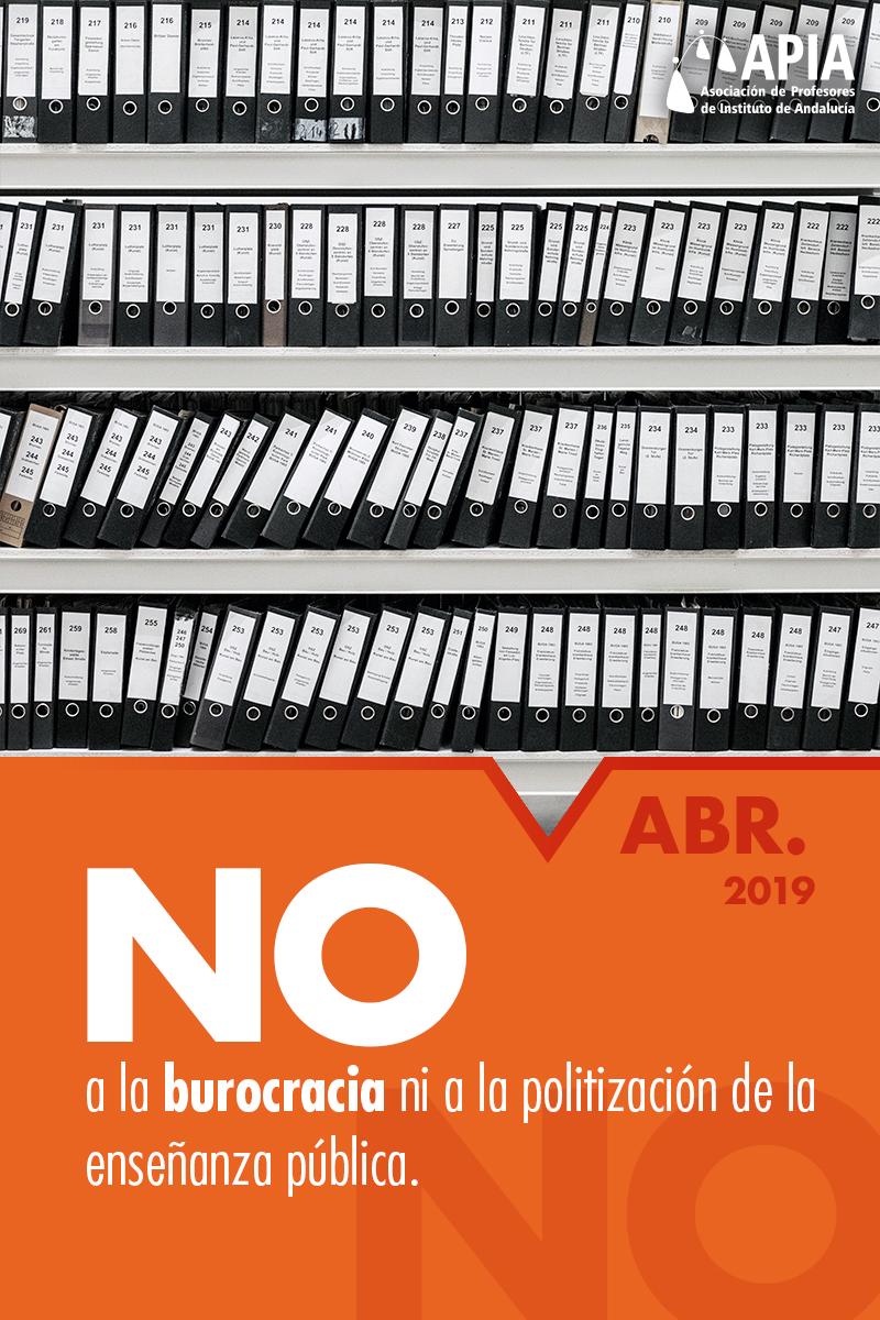 No a la burocracia ni a la politización de la enseñanza pública
