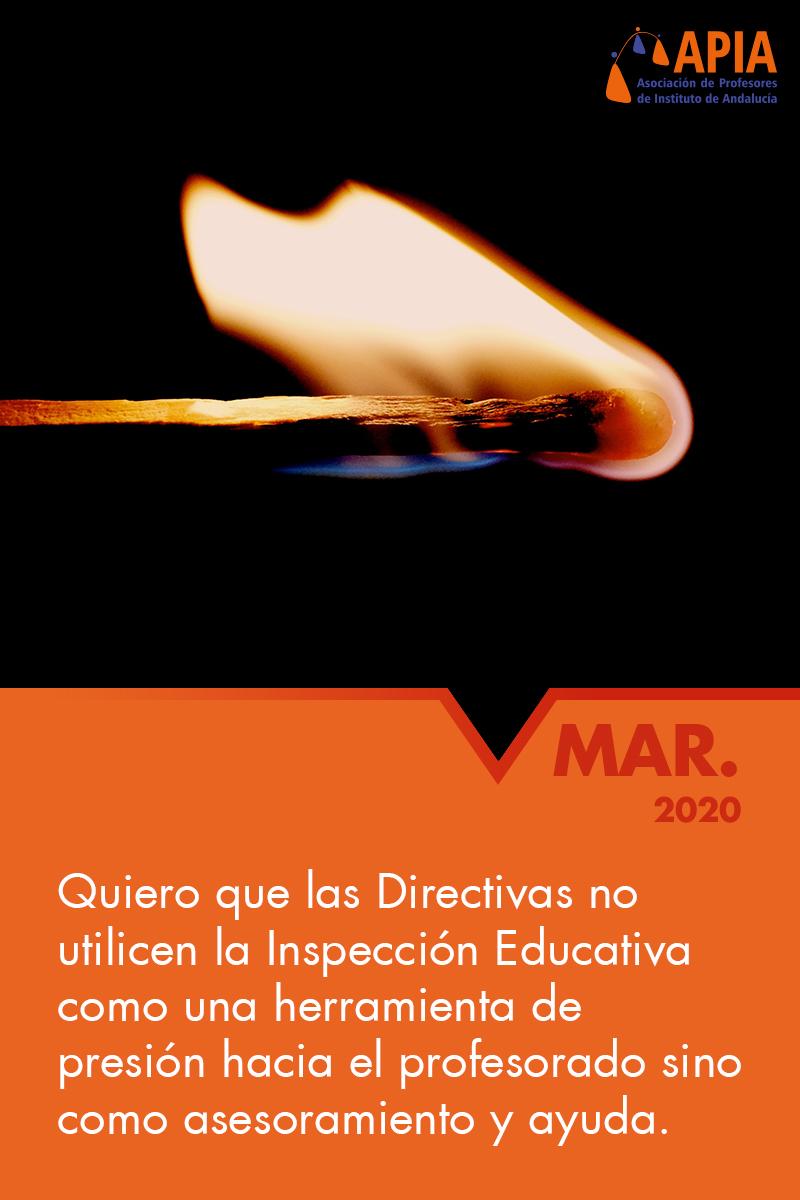 Por una inspección educativa profesional y despolitizada